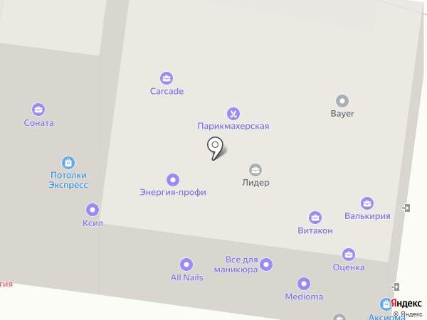 Витакон на карте Пензы