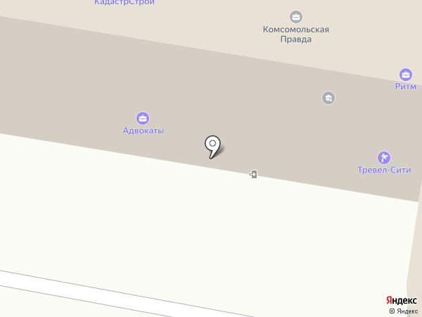 ДинамикаСтрой на карте Пензы