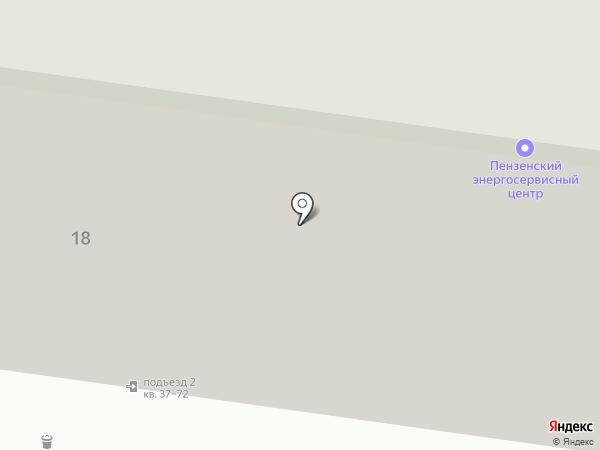 Апартаменты для Вас на карте Пензы
