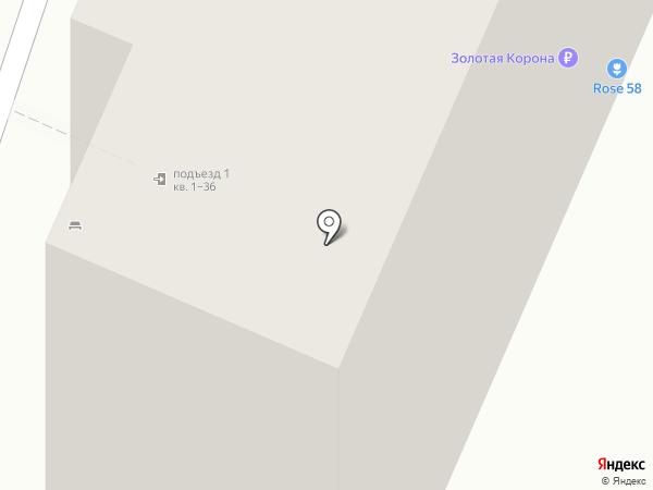 Дубки на карте Пензы