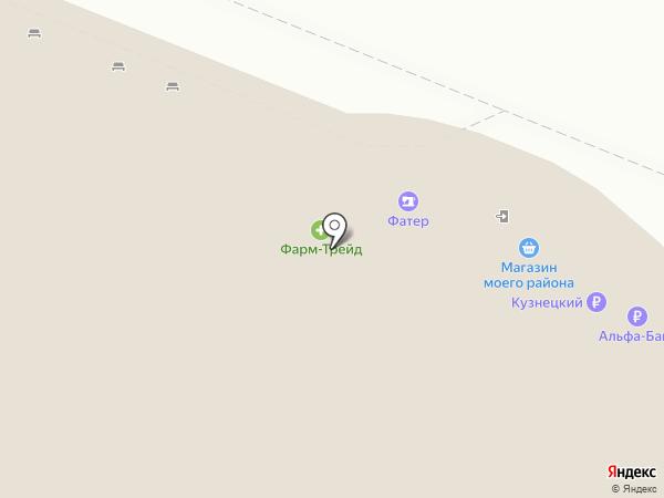 Линзы Пензы на карте Пензы