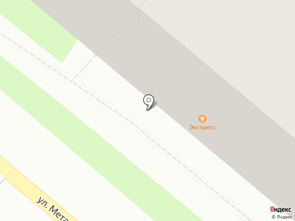 Экспресс на карте Пензы