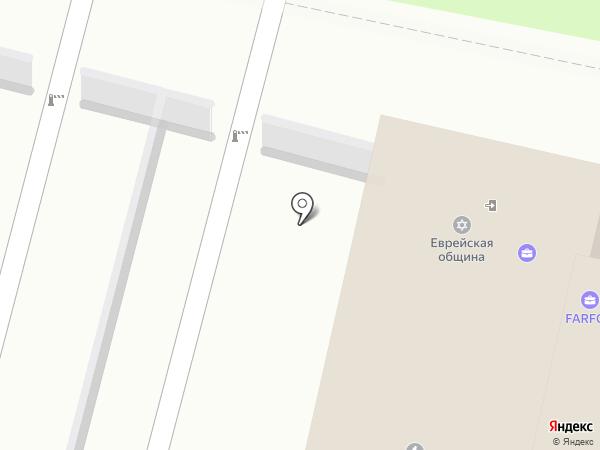 Центр страхования на карте Пензы