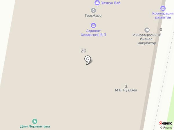 3D-бетон на карте Пензы