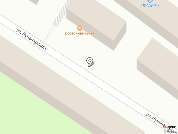 Ермолино на карте Пензы