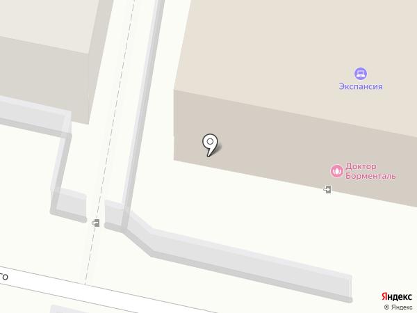 Пенза-Акцепт на карте Пензы