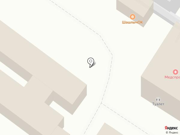 Медсправка на карте Пензы