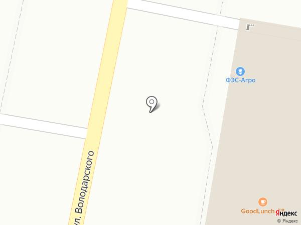 Ризалит-Сура на карте Пензы