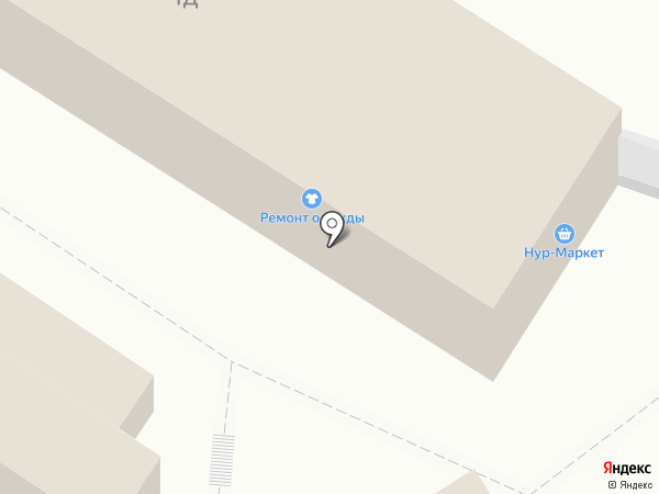 Нур-Маркет на карте Пензы