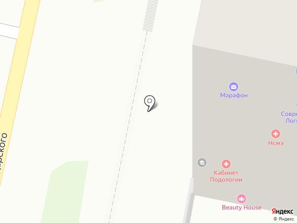 Автомед на карте Пензы