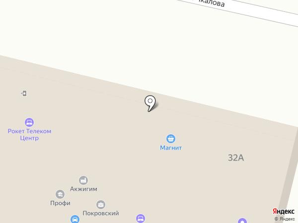 Вита-Пенза на карте Пензы