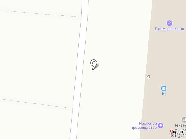 РОСТЭЛ на карте Пензы