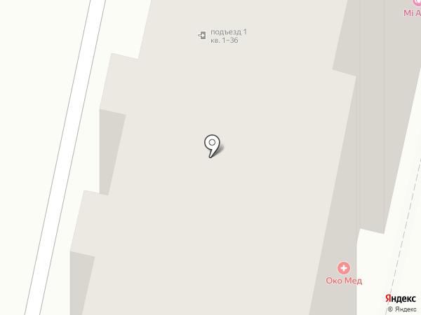 Фрея на карте Пензы