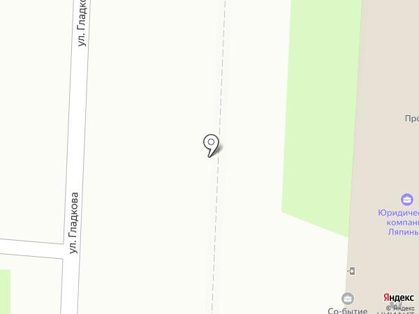 Аварком + на карте Пензы