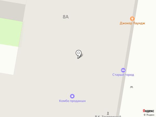Старый Город на карте Пензы