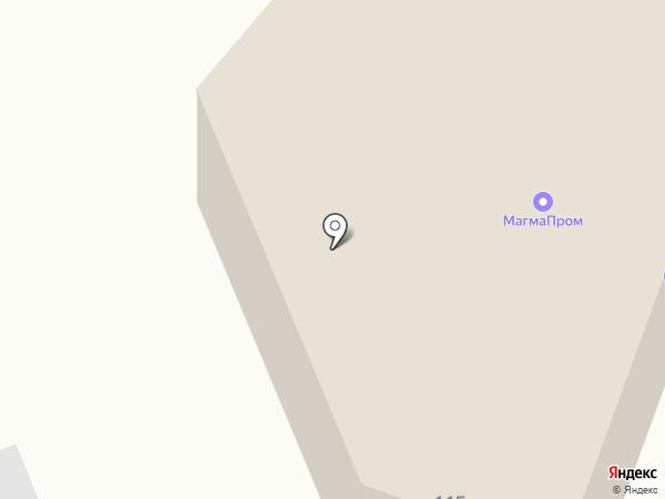 Магазин моторных масел и автохимии на карте Пензы
