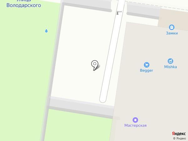 De puf на карте Пензы