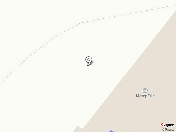 Автоцентр на карте Пензы