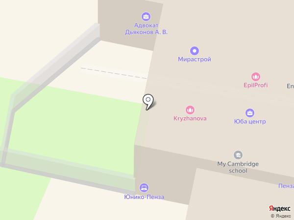Банкомат, Банк Рост на карте Пензы