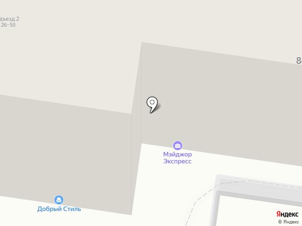 Саратовский Сберегательный, КПК на карте Пензы
