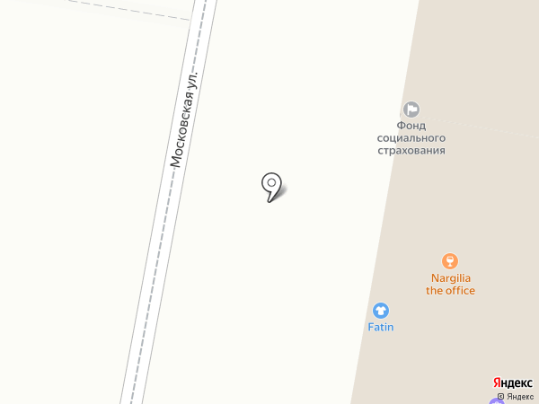Nargilia The Office на карте Пензы