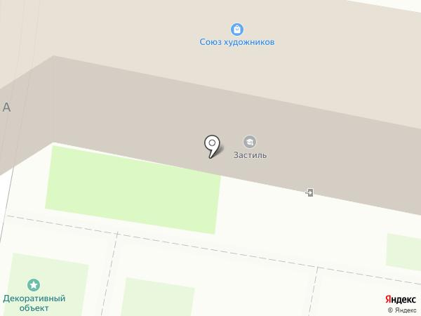 Адвокат Панцырев А.С. на карте Пензы