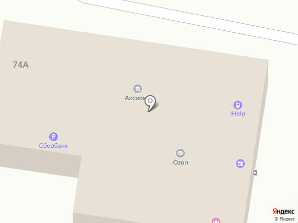 Адвокат Голованова О.В. на карте Пензы