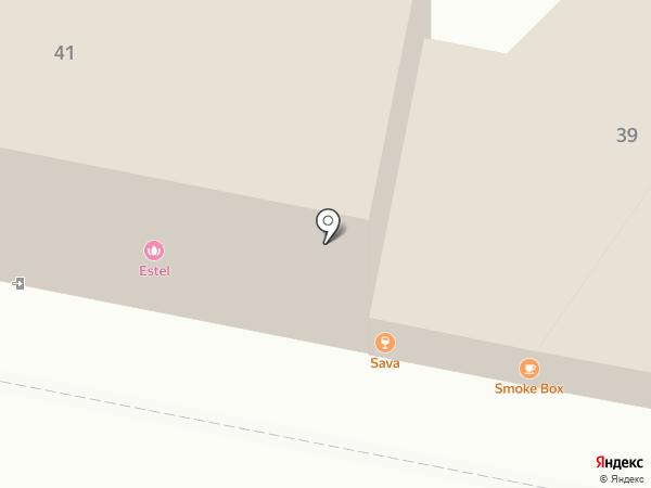 Smoke Box BBQ на карте Пензы