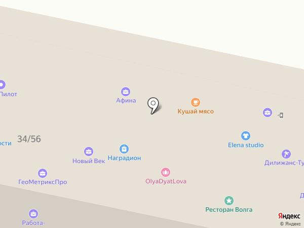 Хмель на карте Пензы