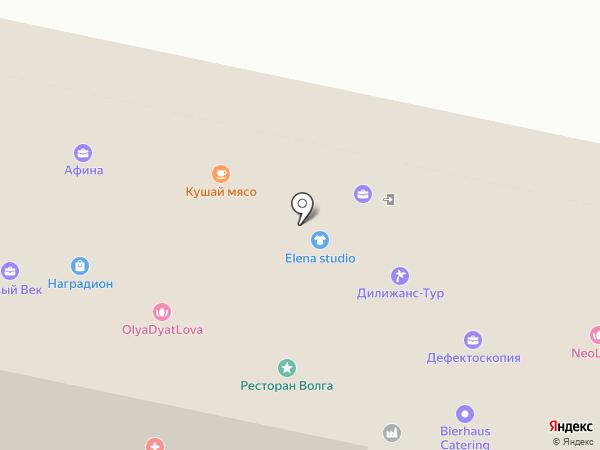 Кабинет корпоративных юридических услуг на карте Пензы