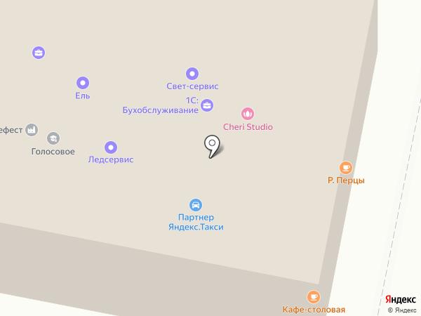 Русские перцы на карте Пензы