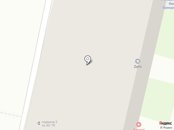 ИнвестСтрой на карте Пензы