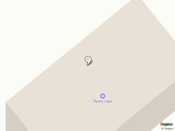Пром-Тара на карте Пензы