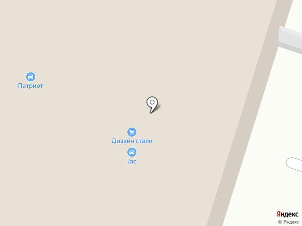 Мойка грузовых автомобилей на карте Пензы