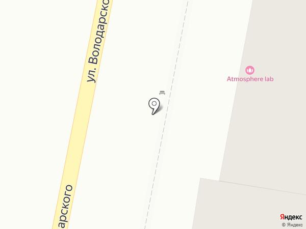 Данила-Мастер на карте Пензы