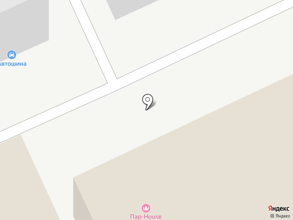 Аверс на карте Пензы