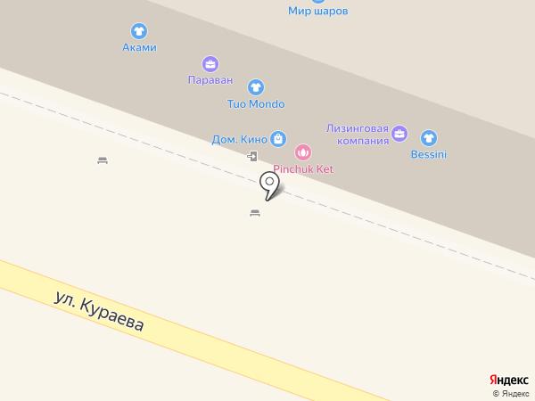 Четыре глаза на карте Пензы