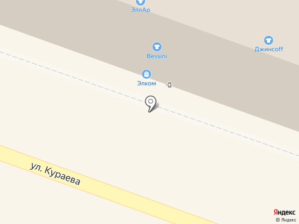 Солид, ЗАО на карте Пензы