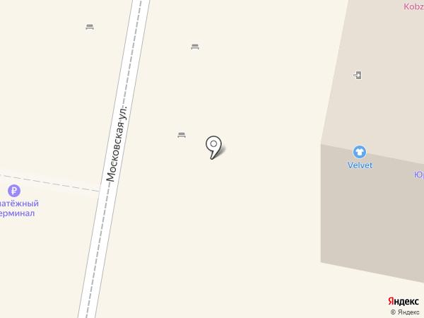 Джо на карте Пензы