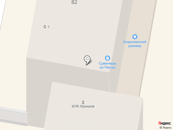 Мода`М на карте Пензы