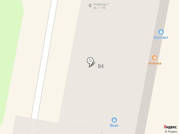 Аленка на карте Пензы