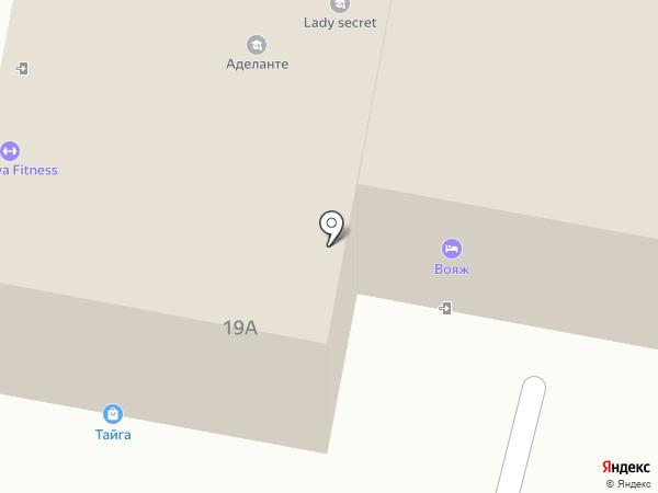 Вояж на карте Пензы