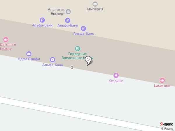 Губернский город на карте Пензы