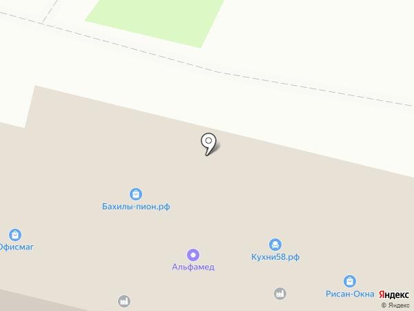 Интервесп на карте Пензы
