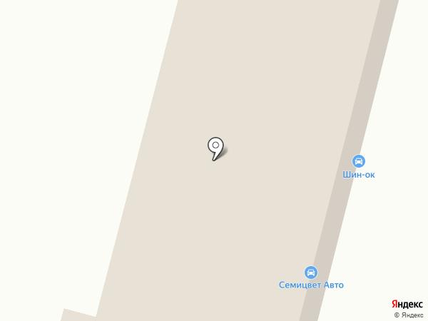 Семицвет Авто на карте Пензы