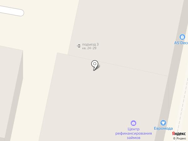 Евромода на карте Пензы