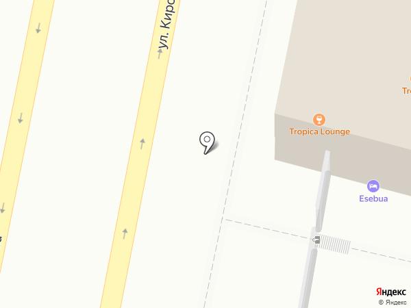 Клуб паровых коктейлей на карте Пензы