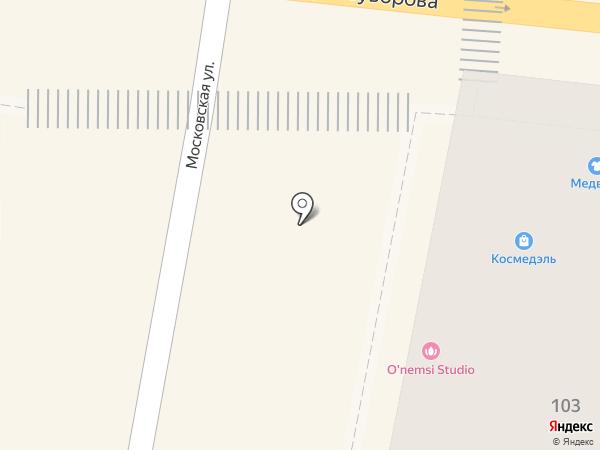KL на карте Пензы