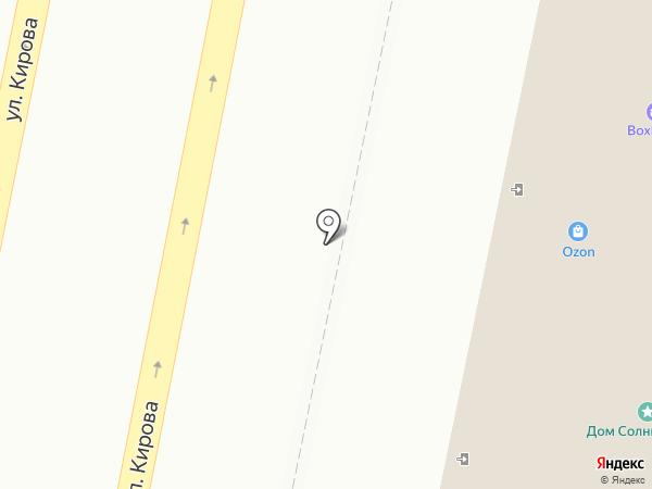 Сурская крепость на карте Пензы