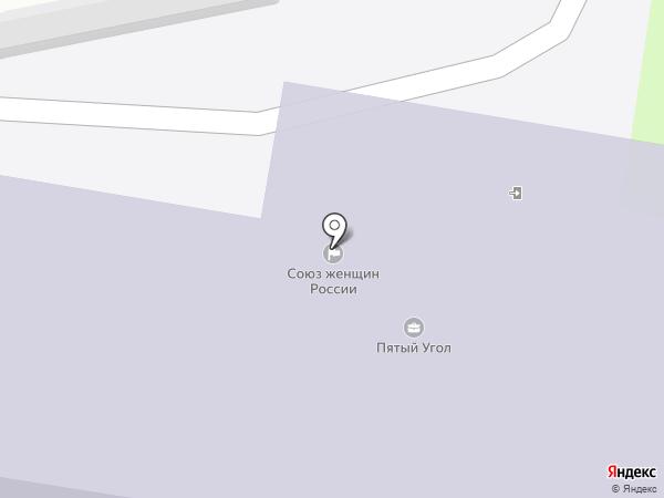 Твиспо на карте Пензы